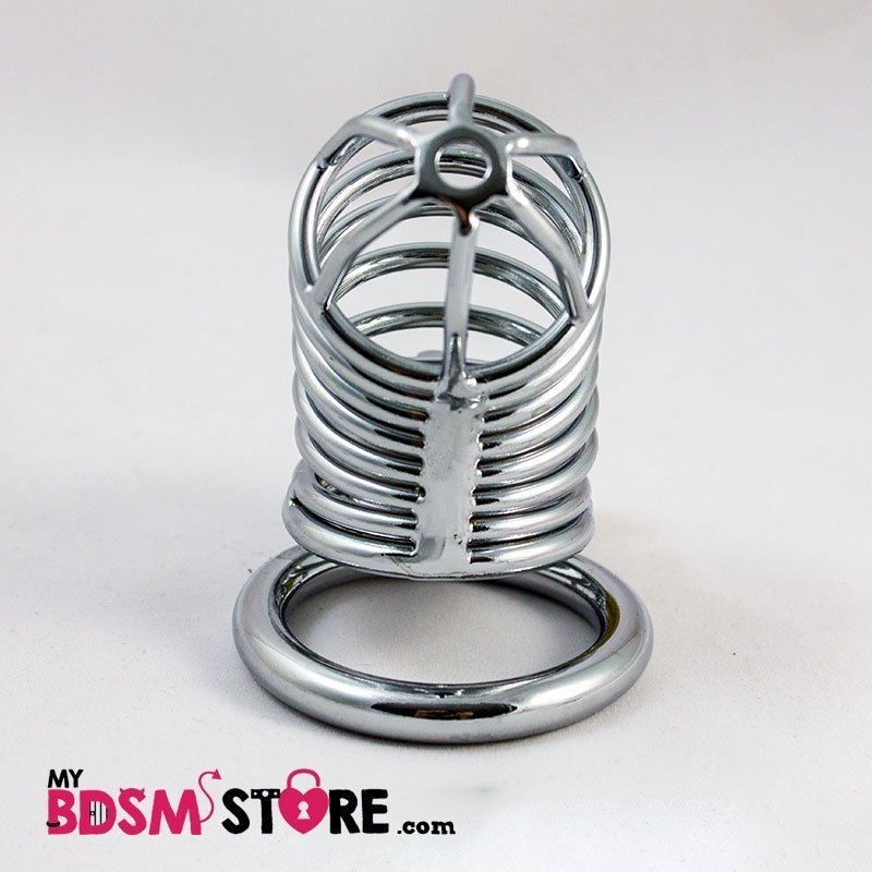 CB Castidad Jaula Caja Aros acero metalico stainless steel chastity
