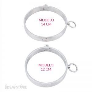 collar-bdsm-de-acero-llave-allen-en-12--y-14cm