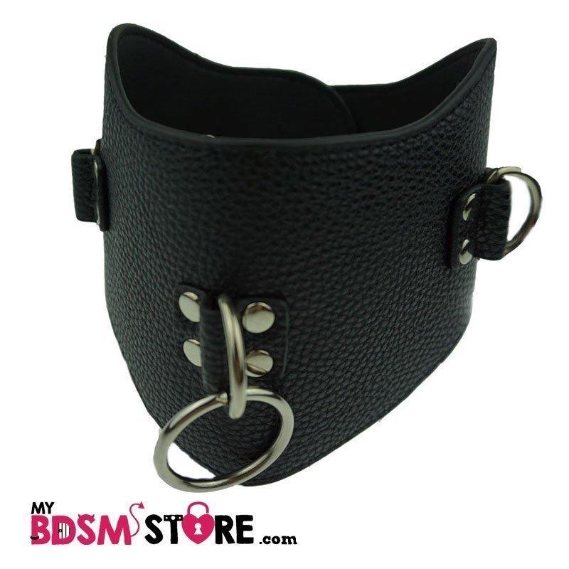 Collar entrenamiento de postura Cuero Sintetico posture collar training bdsm slave
