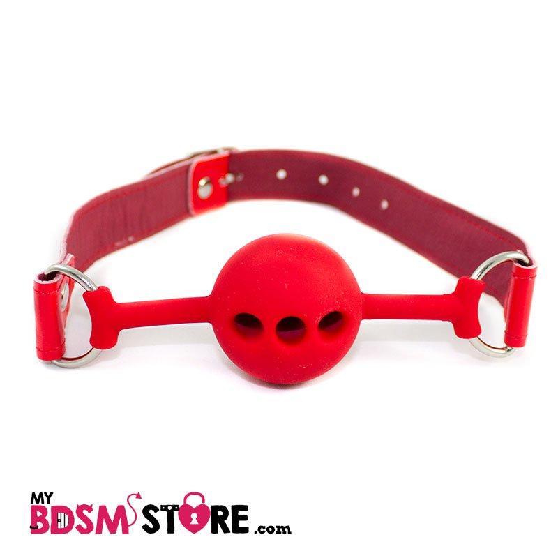 Mordaza Silicona Red gag ball red