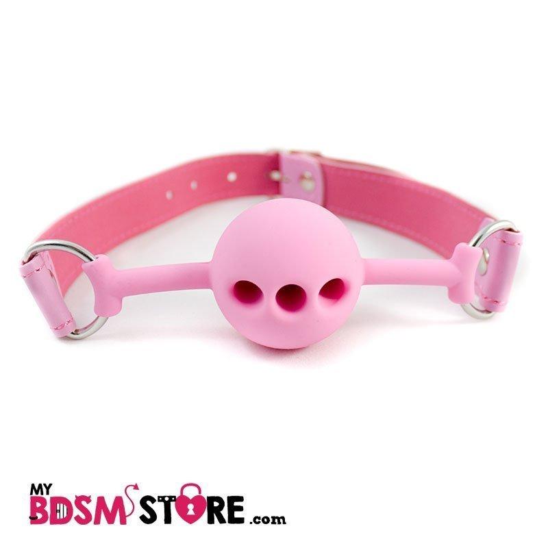 Mordaza Silicona Rosa gag ball pink