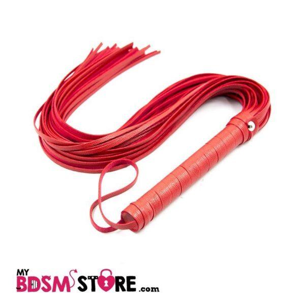 flogger spank azotes bdsm entrenamiento castigo azotador rojo