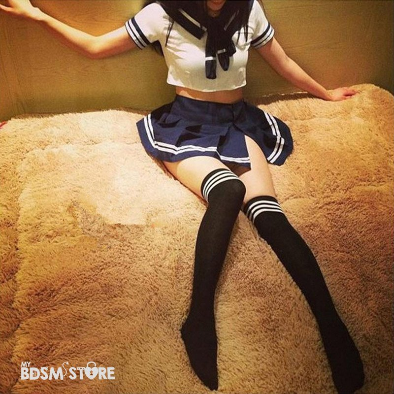 Uniforme colegiala Japonesa Sexy (Seifuku) juegos de rol lolita bdsm little detalle lazo discilplina modelo kawaii