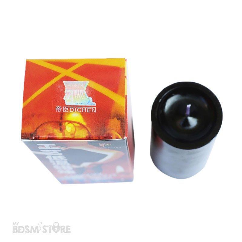 Cera para juegos BDSM seguros con baja temperatura y dolor y calor controlado wax play negra superior