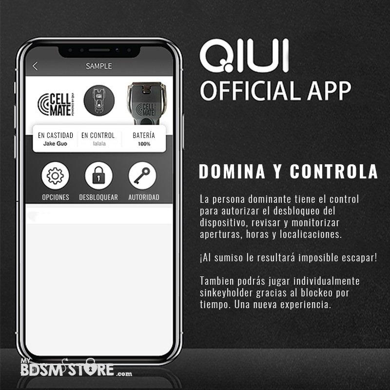 Cellmate Jaula de Castidad Remota controlada por App chastity device remote monitorizacion sumisos bottom sissy medidas app